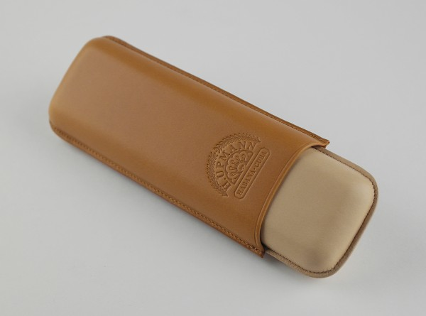 H. Upmann cigar case for two cigars with simple elegance for medium length cigars