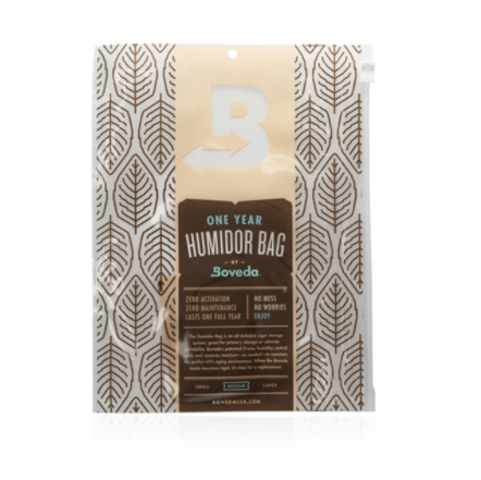 Boveda One Year Humidor Bag Medium