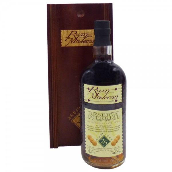 Rum Malecon Reserva Imperial 25 Anos